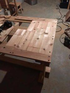 テーブル制作