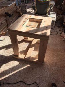 テーブル作成